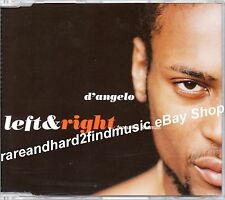 D'Angelo LEFT & RIGHT 1999 EMI US Promo CD Single 87975 2 8