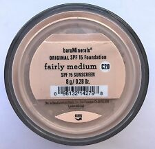 Bare Escentuals Bare Minerals Foundation Fairly Medium C20 8g XL ORIGINAL SPF15
