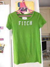 T-shirt haut vert ABERCROMBIE & FITCH de Femme taille L