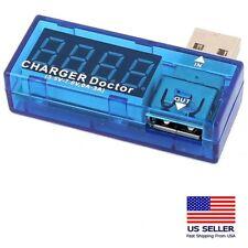 USB Charger Doctor Voltage / Amperage Port Tester Meter