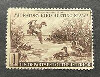 WTDstamps - #RW9 1942 - US Federal Duck Stamp - Regummed
