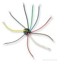 Multicore Screened Cable, Pro Grade Flex, Red, 2 Core, 24 AWG, 0.22 mm², 328 ft,