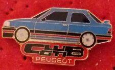 RARE PIN'S PEUGEOT 309 16 S CLUB GTI BLEU