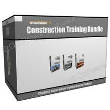 AUC Construction Concrete and Masonry Roofing Training Course Program Bundle