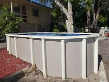 ABOVE GROUND POOL PACKAGE 11.8m x4.5mx1.32m SALTWATER - AUST MADE