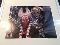 Star Wars Shaak Ti Jedi Autograph 8X10 Photo Orli Shoshan  #3