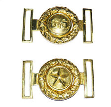 American Civil War Confederate CS Letters And Texas Star Texan Brass Belt Buckle