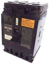 MITSUBISHI NF-SF3080 NO-FUSE CIRCUIT BREAKER 80A 3POLE 480VAC NF-SF *SMALL CHIP*