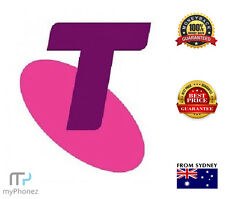 Telstra $10 Credit Prepaid SIM Calls Texts Net SPECIAL OFFER(Buy5get1free)**