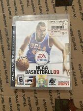 Sony PS3 Playstation 3 EA Sports NCAA Basketball 09 ESPN CIB *Complete*Tested*