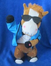 "GANGNAM STYLE - HORSE by GEMMY 15"" SINGING VERY RARE"