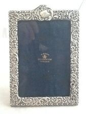 Stunning Medium Sized Rococo Silver Photo Picture Frame - Chester 1899