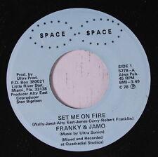 FRANKY & JAMO: Set Me On Fire 45 Soul