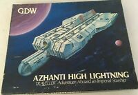 GDW Azhanti High Lightning TRAVELLER Complete Aboard An Imperial Starship Game