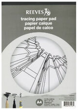 Reeves Artists Tracing Paper Pad - 62gsm - 30 Sheets - A4