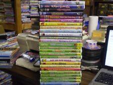 (29) Children's Elmo Sesame Street DVD Lot: (2) Muppets  Fraggle Rock  Christmas