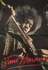 Jimi Hendrix Vintage Poster Guitar On Stage Psychedelic Pi 00004000 n-up Music Memorabilia