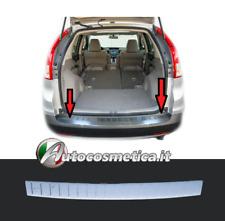 Modanatura Battivaligia Soglia Paraurto Posteriore Acciaio Cromo Honda CR-V  13>
