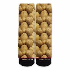 Function - Potatoes Fashion Sock Steak Chicken Protein Food Veggie Funny Dress