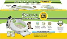 Purina Tidy Cats Litter Box System, Breeze System Starter Kit Litter Box New