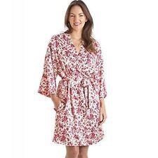 Knee Length Kimono Floral Nightwear for Women