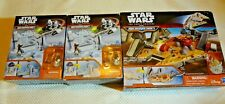 NEW STAR WARS THE FORCE AWAKENS MICROMACHINES PLAYSETS R2-D2 & MILLENNIUM FALCON