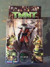 2006-TMNT SPLINTER FIGURE-MISP NEAR FLAWLESS PLAYMATES BIO BOOK-MOVIE TURTLES