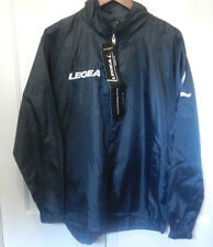 Rain Jacket Hooded Full Zip by Legea Sports Adult Size Medium New With Tags
