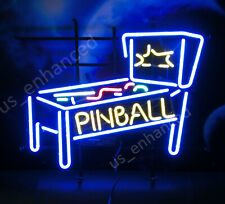 "New Pinball Game Room Open Bar Light Beer Neon Sign 24""x20"""