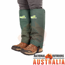 Snakeprotex Gaiters Bow Hunting Shooter Stalker Snake Protection Hiking Camping
