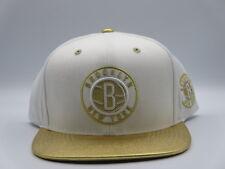 Brooklyn Nets OG Jordan Gold Mitchell & Ness NBA Retro Vintage Snapback Hat Cap
