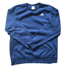 Adidas Blue Sweatshirts Jumper Size M