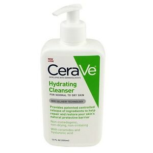 Cerave Hydrating Cleanser, 12 oz (355 ml) NEW
