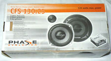 PHASE EVOLUTION KOMPO SYSTEM CFS 130.25 120 WATT Boxen Auto Lautsprecher 2-Wege