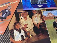 USED LP VINYL RECORD LOT: Rare AUTOGRAPHED Bucks Fizz GOLDEN DAYS + Bonus