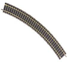 BINARIO CURVO RIGIDO R2 420 mm 36° FLEICHMANN PROFI- GLEIS HO 6125 PER PLASTICI