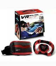 Virtual Reality Mobile Phone Car Racing Gaming System Steering Wheel Game