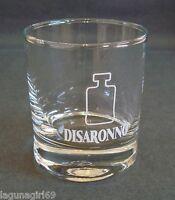 Disaronno Liqueur Glass Tumbler Pub Home Bar Used Collectable