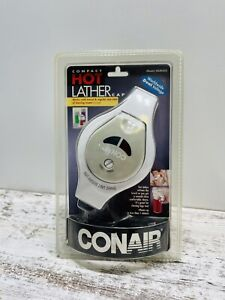 Conair Compact Hot Lather Cap HLM5CS Sealed Dual Voltage Travel New