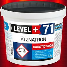 5kg Ätznatron kaustisches Soda Natriumhydroxid NaOH, Entfetter Reiniger RM71