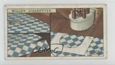 1927 Wills Household Hints Tobacco Base #26 Laying Linoleum Non-Sports Card 1i3