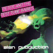Peter and the Test Tube Babies alieno pubduction CD (1998 we BITE Rec) ORIGINALE!