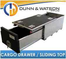 750mm Long Cargo Drawer / Fridge Slide Top (500mm W x 325mm H) 4wd, 4x4, System