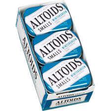 X9 CONTAINERS OF ALTOIDS SMALLS WINTERGREEN SUGAR FREE 50 MINTS PER TIN X9 CONT