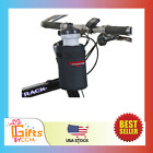 Bpa Free Shasta Black Insulated Bike Water Bottle Holder W/ 20 Oz