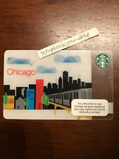 2010 Starbucks CHICAGO Gift Card No Value #6067 FREE USA SHIPPING
