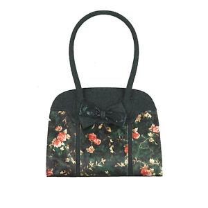 Ruby Shoo Green Denver Large Top Handle Bag (Matches Joanne Astrid) Handbag