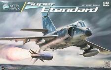 Avion de chasse DASSAULT SUPER-ETENDARD - KIT KITTY-HAWK 1/48 N° 80138