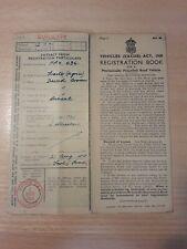 Vintage Tractor Registration Document David Brown Diesel FPX 636 1944
