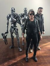 Neca Terminator Dark Fate figure lot Sarah Connor Arnold Schwarzenegger T-800